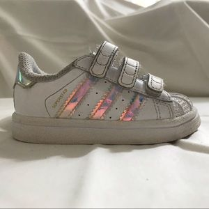 6938a0aa579 adidas Shoes - Adidas Superstar - Iridescent Sneaker (Baby 5K)